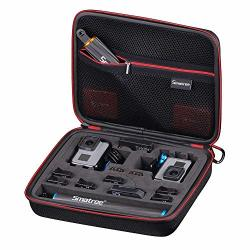 Smatree Carrying Case For Gopro Hero 7 6 5 4 3+ 3 Gopro Hero 2018 Cameras And Accessories Not Included Renewed