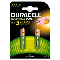 DURACELL - Plus Aaa 750MAH 2S -3YR