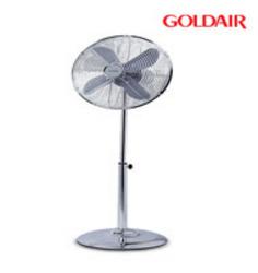 Goldair GDPF16C 40cm Pedestal Metal Fan