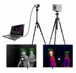 Thermal Imaging Camera Fever Screening Solution Portable For Public Spaces