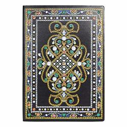 Sikiwind Special Shaped Diamond Painting Sketchbook A5 Diy Diamond Painting 50 Pages For Chrismats Gift