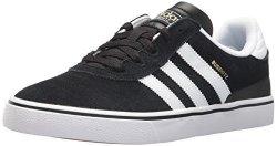 Adidas Originals Men's Shoes Busenitz Vulc Fashion Sneakers White black 12 M Us