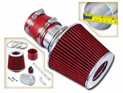 Rtunes Racing Short RAM Air Intake Kit + Filter Combo Red Compatible For 99-04 Volkswagen Golf jetta gti 1.8T 2.0L VR6