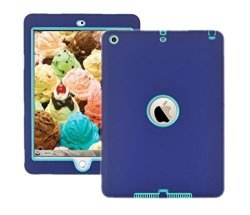 Trendmart Protective Heavy Duty Tough 3 In 1 Tpu PC Design Holder Case Cover For Apple Ipad 2ND 3RD 4TH Generation Model A1395 A