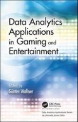 Data Analytics Applications In Gaming And Entertainment Hardcover