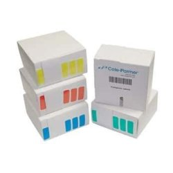 """Cole-parmer Microtube Labels Yellow 1-1 4"""" X 1 2"""" 1000 RL"""