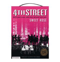 4th Street Sweet Rose 1 X 3l