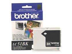 Brother Innobella LC51BK Ink Cartridge 500 Page Yield Black