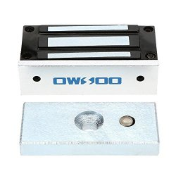 OWSOO 60KG 132LBS Holding Force Electric Magnetic Lock For Door Access Control System Electromagnet Fail-safe Nc Mode