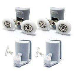 Shower Door Hooks Guides rollers wheels runners Diameter 23MM 8PCS