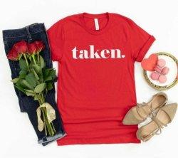 Red Taken T-Shirt - 2XL