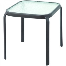 OUT AND ABOUT Brown Stacking Side Table