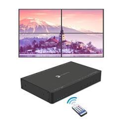 Gofanco Prophecy 4K HDMI 2X2 Video Wall Controller & Processor Up To 4K 60HZ Yuv 4:4:4 1X HDMI Or MINI Displayport 1.2 Input Bez