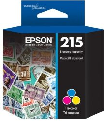 Epson T215 Standard-capacity Tri-color Ink Cartridge