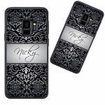 Customized Phone Case For Samsung Galaxy S9 Plus Black Vintage European Personalized For Samsung Galaxy S9 Plus