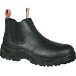 Hitec Hi-tec Safety Boot Teleza Chelsea Black