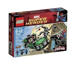 LEGO Super Heroes Spider-cycle Chase 76004 Discontinued By Manufacturer