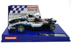 Carrera 20030840 30840 Mercedes-benz F1 W08 L. Hamilton No. 44 1: 32 Scale Digital 132 Slot Car Racing Vehicle Gray