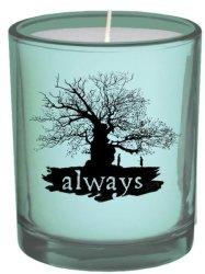 Harry Potter - Always - Glass Votive Candle 6CM X 7CM