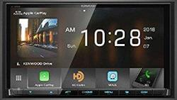 """Kenwood Excelon DMX905S 6.95"""" Wvga Digital Multimedia Receiver With Apple Carplay & Android Auto"""