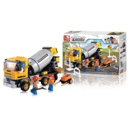 Sluban Town Construction - Cement Mixer Truck