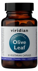 Viridian Olive Leaf Extract Vegetarian Capsules 30