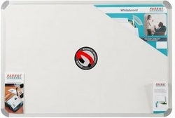 Parrot Whiteboard Magnetic in White 1500 X 900mm
