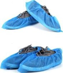 G Fox Disposable Non Wovan Over Shoes Blue Pack Of 100