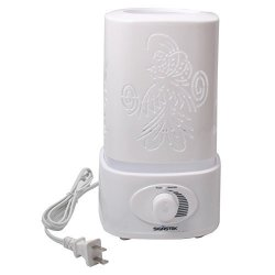 Signstek 1500ML 1.5L Ultrasonic Air Humidifier LED Color Changing Aroma Oil Diffuser Windmill