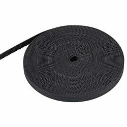 Yoidesu 3D Printer GT2 10MM Width Rubber Timing Belt Synchronous Belt 1 10M For 3D Printer 10M