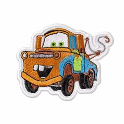"""Embrosoft Canada Corp. Cars Mater Embroidered Patch Iron On 3.7"""" X 3"""""""