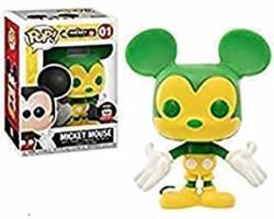 Funko Pop Disney: Mickey Mouse Exclusive Green & Yellow