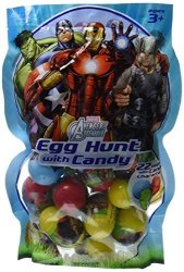 Marvel Avengers Assemble Egg Hunt With Candy 22 Avengers Eggs With Character Candy