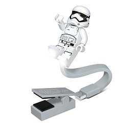 Santoki Lego Star Wars First Order Stormtrooper USB Booklite - LED Book Light With Clip And USB Connector - For Use With Books And Laptops