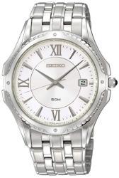 Seiko Men's SGEE93 Le Grand Sport White Dial Watch