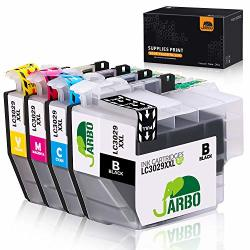 Jarbo Compatible Ink Cartridge Replacement For BrOther LC3029XXL 1 Set Compatible With BrOther MFC-J5830DW MFC-J6535DW MFC-J5930DW MFC-J6935DW MFC-J5830DWXL MFC-J6535DWXL Printer 1B 1C 1M 1Y