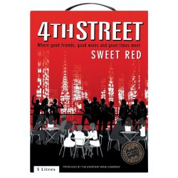 4TH Street - Sweet Red Wine 5L