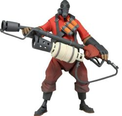 Neca Team Fortress 2: 7 The Pyro Ultra Deluxe Action Figure Red