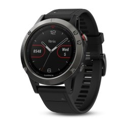 Garmin Fenix 5 in Slate Grey with Black Band