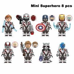 Hanghang MINI Super Heroes Action Figures Avengers Figures For Boy Girl
