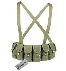 Chinese Loklode Military Surplus Sks Type 56 Semi Ammo Stripper Clips Chest Rig
