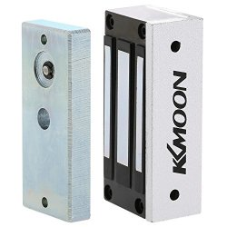 KKmoon 60KG 132LB Electric Magnetic Lock Fail Secure Nc 12V For Door Entry Access Control System