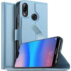 huge discount cc7b2 e990a KUGI Huawei P20 Lite Case Nova 3E Case Huawei P20 Lite Case Premium Pu  Leather Wallet Case Card Holder Drop Proof Flip Folio Pro | R500.00 |  Cellphone ...