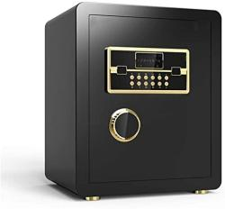 USA Security Safes Zcf MINI Safe Electronic Digital Security Safes Password Key Lock For Home Office Hotel Business Use Jewelry Gun Cash Valuables Storag