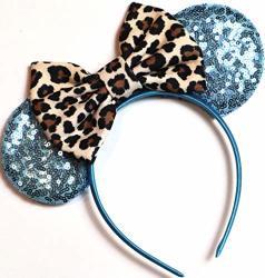 Clgift Leopard Minnie Ears Animal Kingdom Ears Lion King Minnie Blue