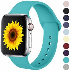 Ilopee Bands For Apple Watch 38MM 40MM Series 5 4 3 2 1 Teal M l