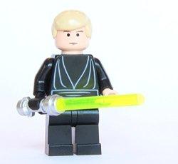 Lego Star Wars Luke Skywalker From 10188 Death Star Black Jedi