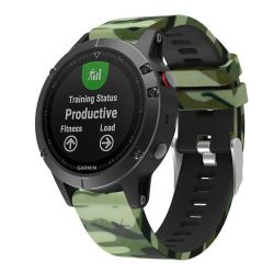 Killerdeals Silicone Strap For Forerunner 935 - Camo Green