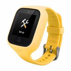 Lumumi Positioning Kids Safe Smartwatch Anti Lost Kids Smartwatch Phone Lps Tracker Sos Clock Yellow