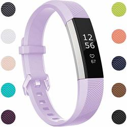 Maledan Compatible With Fitbit Alta Bands Replacement Band For Fitbit Alta Hr alta ace Large Lavender